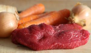 maso a zelenina